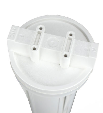 ro system filter housing lid view