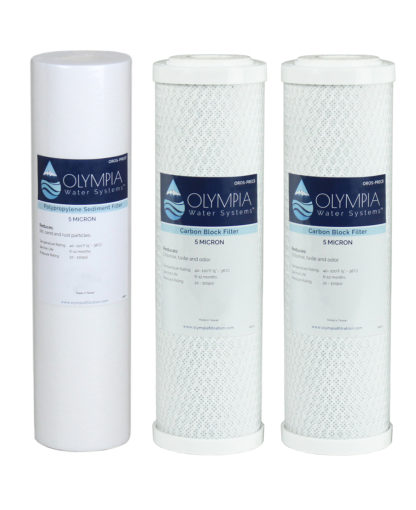 oros-25 stages 1-3 replacement filter pack