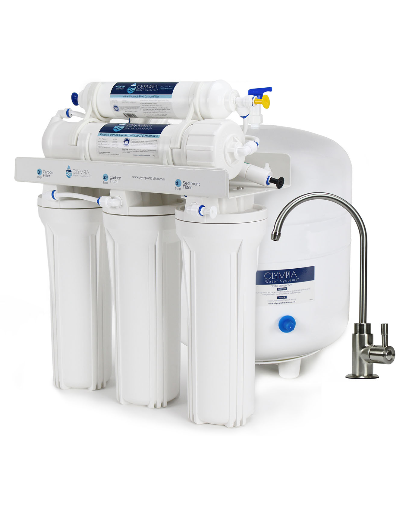 50gpd Reverse Osmosis System Oros 50bn Olympia Water