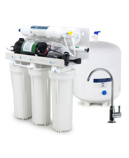 OROS-50 RO system with electric booster pump